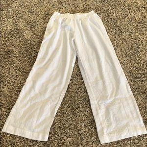 Azteca Lindo White Beach Pants XL